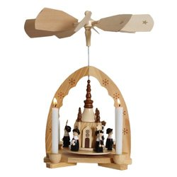"Christmas Pyramid 12"" Nativity Play"