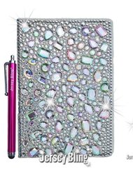 Jersey Bling Folio Case For Kindle Fire Hd 8 9