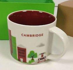 Starbucks Coffee Mug You Are Here Collection Cambridge