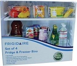 Frigidaire 4 Piece Refrigerator Amp Freezer Storage Bins Blinq